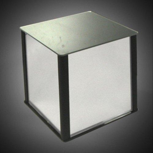New Mirror Acrylic Plastic Cube Pedestal, Size: 12''W x 12''D x 12''H