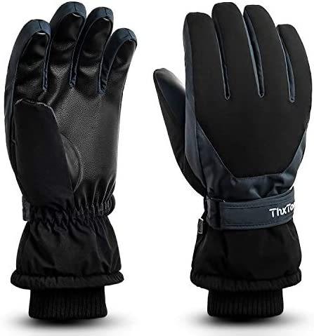 ThxToms Winter Gloves for Men & Women, Waterproof Ski & Snow Gloves for Cold Weather, -30℉ Warm Cycling Hiking Gloves