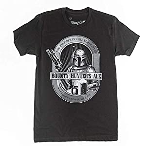 Boba Fett Shirt Bounty Hunters Ale Star Wars Beer Shirt