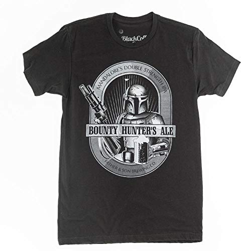 Boba Fett Shirt Bounty Hunters Ale Star Wars Beer Shirt XX-Large