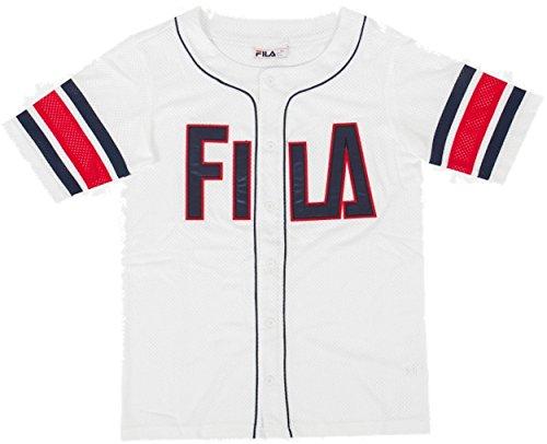 Kyler Fila À T shirts Jersey Manches Courtes Hommes White Pour Baseball Bq7d64q