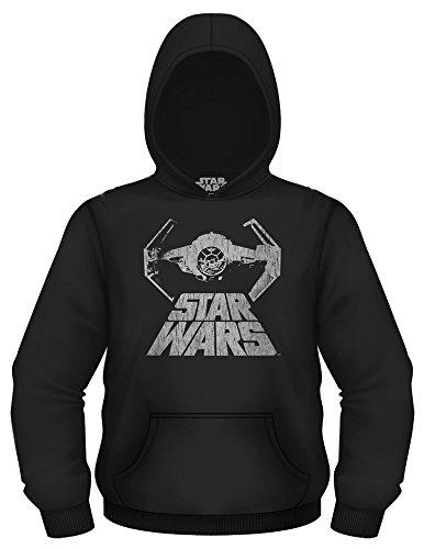 Star Wars Men's Bat Fighter Sweatshirt, Black, Extra Large