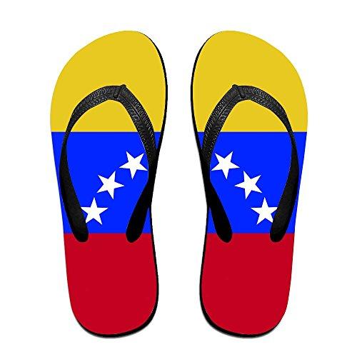 Unisex Summer Venezuela Flag Flip Flop Shower Sandal by Enuain