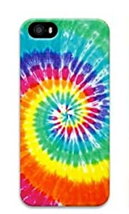 Tie Dye 002 Iphone 5 5S Hard Protective 3D Case by Lilyshouse