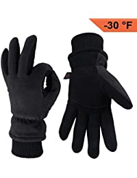 Winter Gloves -30°F Cold Proof Thermal Driving Glove - Insulated Cotton and Windproof Membrane, Warm Hands in Cold Weather for Men and Women