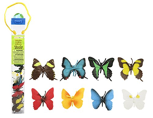 Safari Ltd Butterflies TOOB With 8 Hand Painted