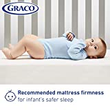Graco Premium Foam Crib and Toddler Mattress, White