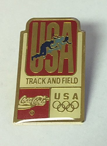 USA Olympic Track and Field Coca Cola Pin