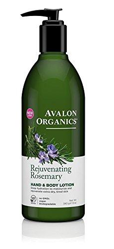 Large Product Image of Avalon Organics Anics Lotion H&B Rosemary, 12 oz