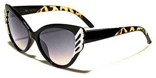 AU inclus lunettes soleil VOLANT de Animal Designer UV400 mode chat microfibre d'oeil VG SPORT Bras GRATUIT Noir COMPLET Protection vibrant Hutt femme Impression poche Xw0zSHFxq