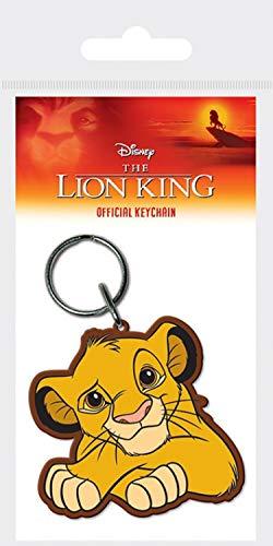 1art1® El Rey León - Simba Llavero (6 x 4cm): Amazon.es: Hogar