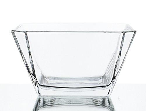London Clear Glass Mini Dip/Dessert Bowls - Set of 6, 10 Ounce