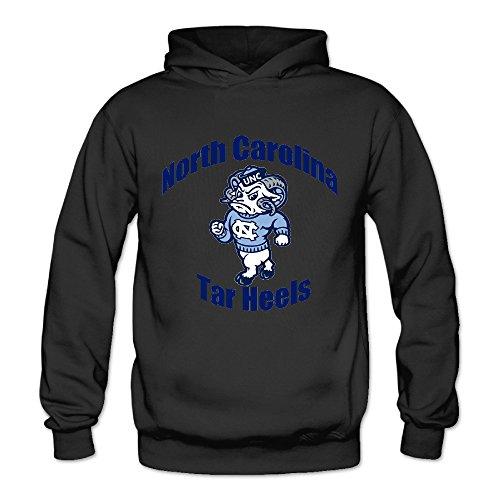Geheimnis Gross Women's North Carolina Tar Heels 11 Hoodies Sweatshirt Size M US Black