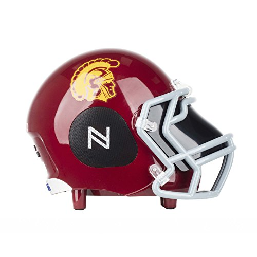 Usc Mini Helmet - Nima Athletics NCAA Football USC Trojans Wireless Bluetooth Speaker. Officially Licensed Portable Helmet Speaker by NCAA College Football - Small