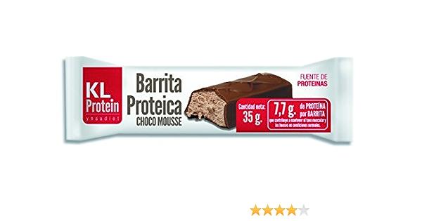 Barritas Proteicas y Energética, Sabor Chocolate, Naranja y ...