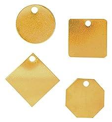 Accuform TDB223 Brass Blank Identificati...
