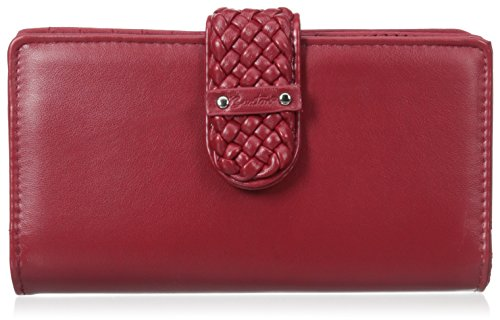 buxton-hailey-super-wallet-red-one-size