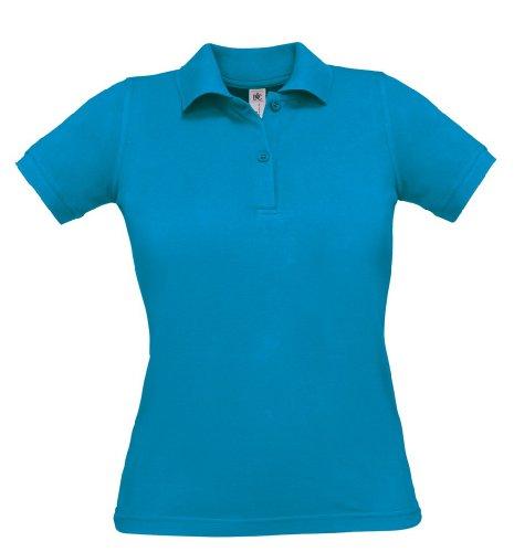 Safran Ladies Polo, Farbe:Atoll;Größe:S