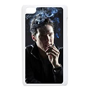 iPod Touch 4 Phone Case White Benedict Cumberbatch CML5588262