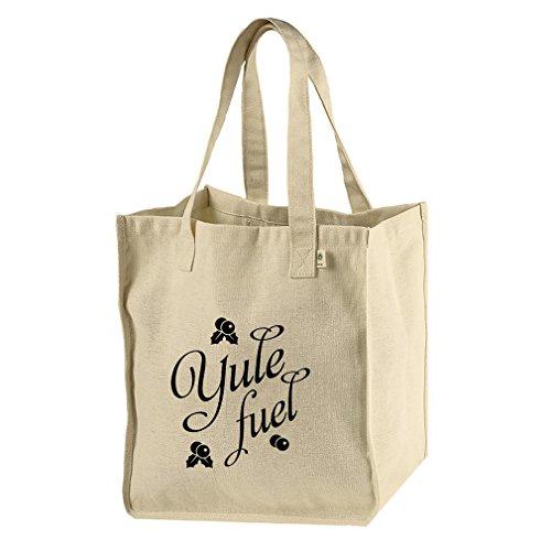 Yule Fuel Hemp/Cotton Canvas Market Tote Bag Tote