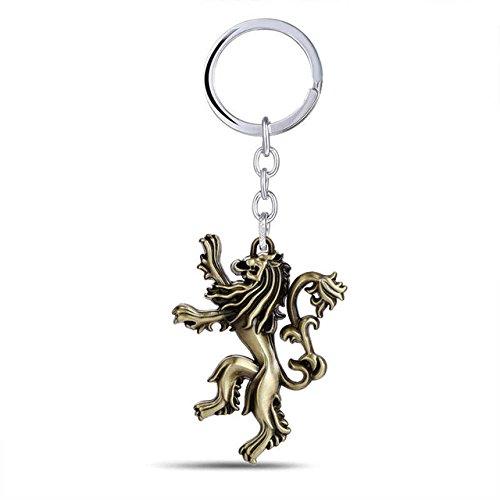 Lannister - Llavero de metal con colgante en forma de anime ...