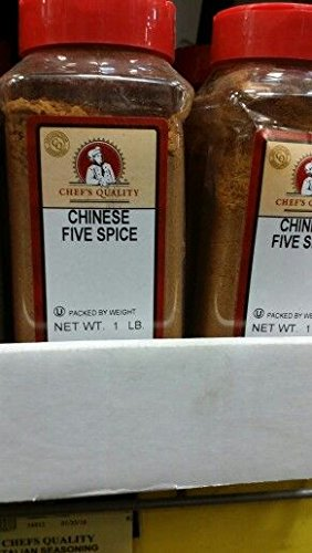 Chef's Quality Chinese Five Spice 16 Oz (2 Pack)