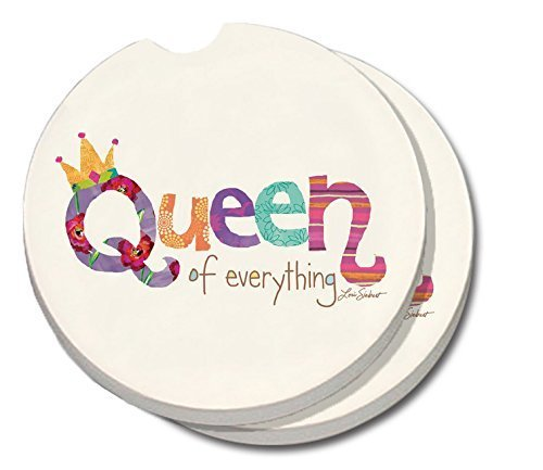 CounterArt Absorbent Stoneware Coaster Everything