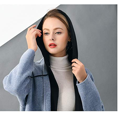 À Vioy Longues Femmes Manches Hiver Broderie Et Veste Automne Manteau En Des Chaude Laine Boucle Laine Vintage qwqvg7r