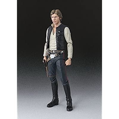 Bandai S.H.Figuarts Star Wars Han Solo(A NEW HOPE) Approximately 6inch: Toys & Games