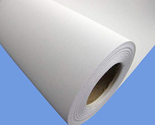 (Canvas Roll-Polyester Matte Waterproof for Any Aqueous Inkjet and Eco Solvent and Latex UV Printer (44