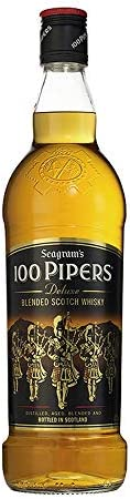 100 Pipers Whisky Escoces 70 cl