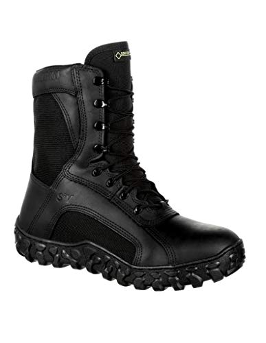 Rocky RKC078 Men's S2V Gore-Tex 400G Insulated Tactical Military Boot, Black - 10.5 M