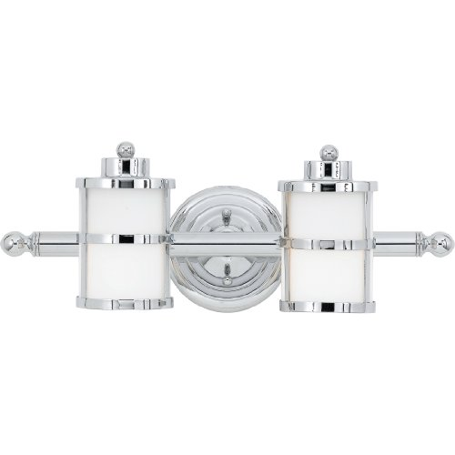 Quoizel TB8602C Two Light Bath Pendant 2, Polished Chrome