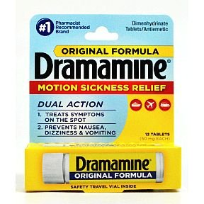 Dramamine® Original Formula - 12 Count Vial (Pack of 6) by Dramamine