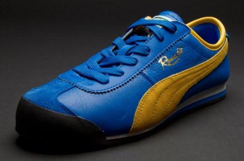 Puma Roma 68 Vintage Blue-Yellow 7UK
