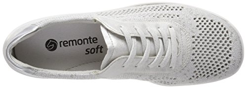 silver R3503 silver Remonte Argent ice Basses Femme Sneakers white SnRYPAq