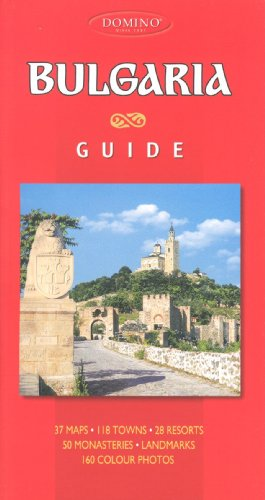 Bulgaria Visitor's Guide / Atlas by DOMINO