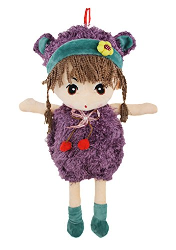 BXT 15.7 inch Tall Lovely Huggable Soft Stuffed Plush Toy Dolls Cuddly Girl Preschool Pals Rag Doll Toys with Beautiful Bud Dress Best Birthday Christmas Present Gift for Kids Baby Girls Lover, (Rag Doll Costume Set)