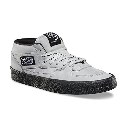 Vans Half Cab Dx Crepe Glacier Gray / Black Mens Shoes