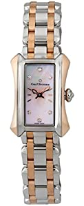Carl F. Bucherer Alacria Princess Steel & 18k Rose Gold Womens Watch Pink Mother-of-Pearl Dial 00.10703.07.77.21