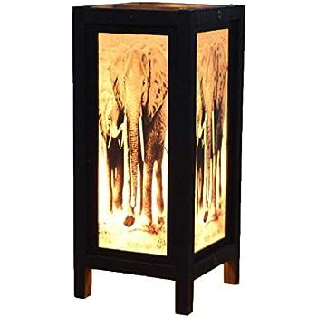 Amazon.com: Decorativo lámpara tailandés clásico hecho a ...