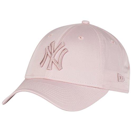 つぶやきとは異なり抽象化ニューエラ (New Era) 9フォーティ 女子 キャップ - サテン ニューヨーク?ヤンキース (New York Yankees) ピンク
