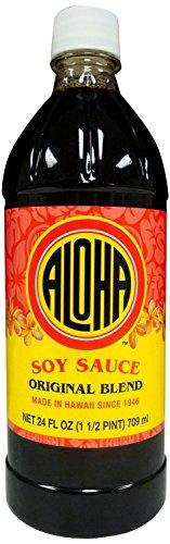 Aloha Sauce Soy 24 oz - Original ()