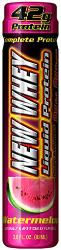 - New Whey 42 Grams Complete Liquid Protein Dietary Supplement, Watermelon, 3.8 Ounce (12 Count)