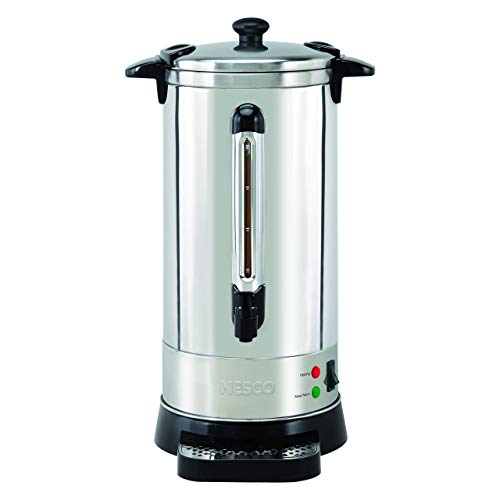 NESCO CU-50, Professional Coffee Urn, 50 Cups, Stainless Steel (Renewed)