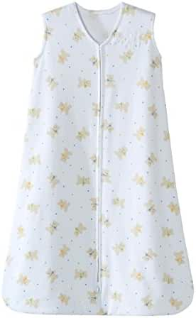 Halo SleepSack Cotton Wearable Blanket, Teddy Bear, Medium