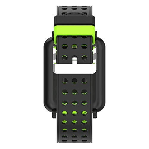 Amazon.com : Huangou M19 Smart Bracelet Heart Rate Monitor ...