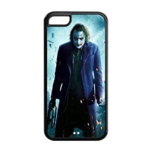 MMZ DIY PHONE CASETPU Case Cover for iphone 6 plus 5.5 inch Strong Protect Case Cute The Joker Why So Serious Case Perfect as Christmas gift(5)