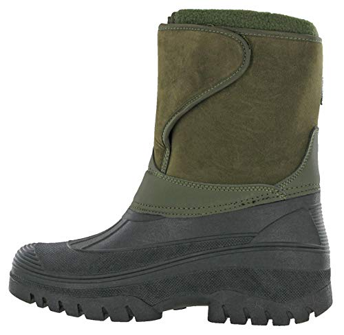 49928741edc Wellingtons Uk Khaki 1 Calf Boots Ice Mens Groundwork Winter 2 11 ...