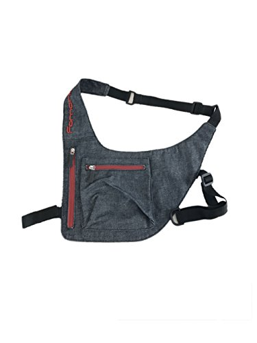 Aefb022 Fornarina Shoulder Bag Denim Flat body nnFqUapS